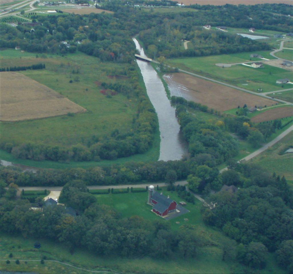 Aerial of Turtle Creek