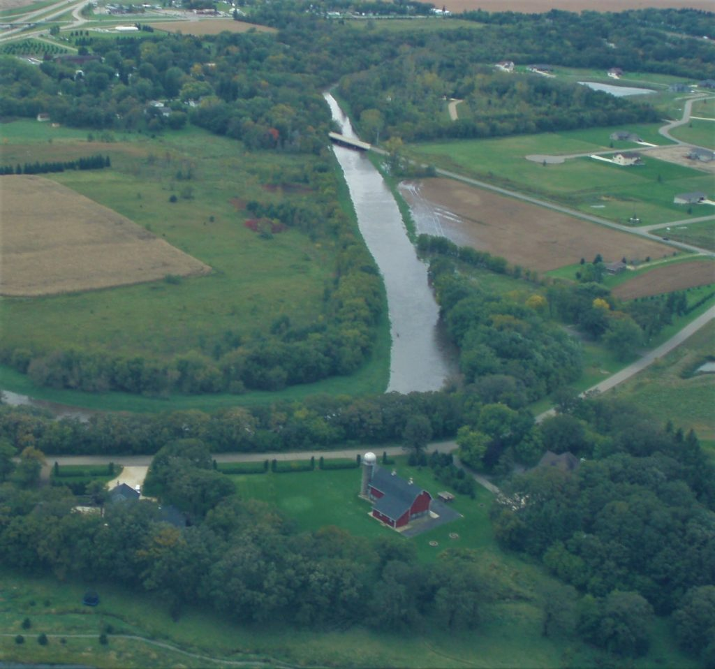 Aerial of Turtle Creek