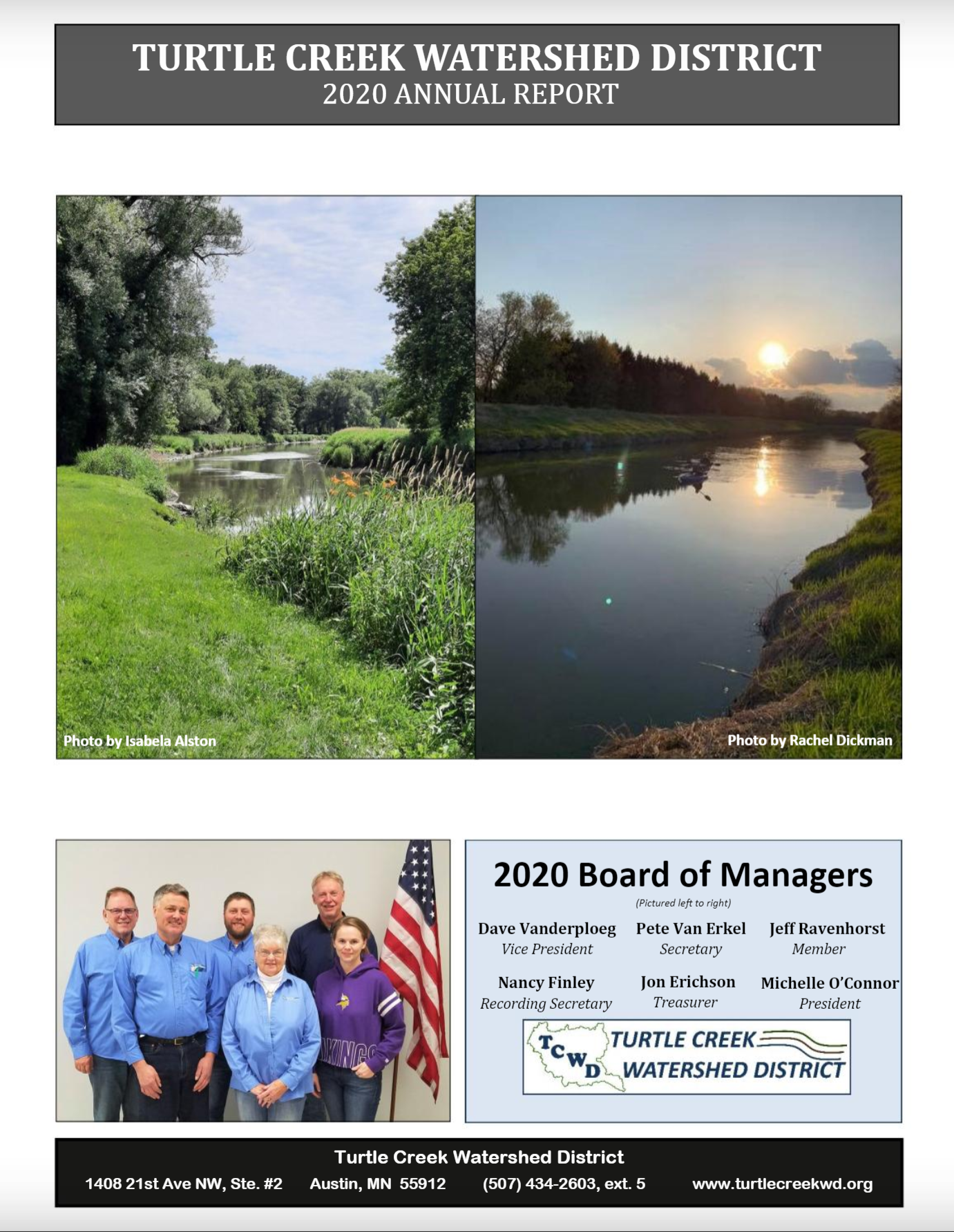 cover tcwd annual report